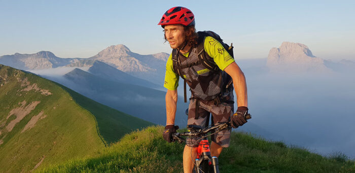 Franco zanetti mountain bike grem bike low