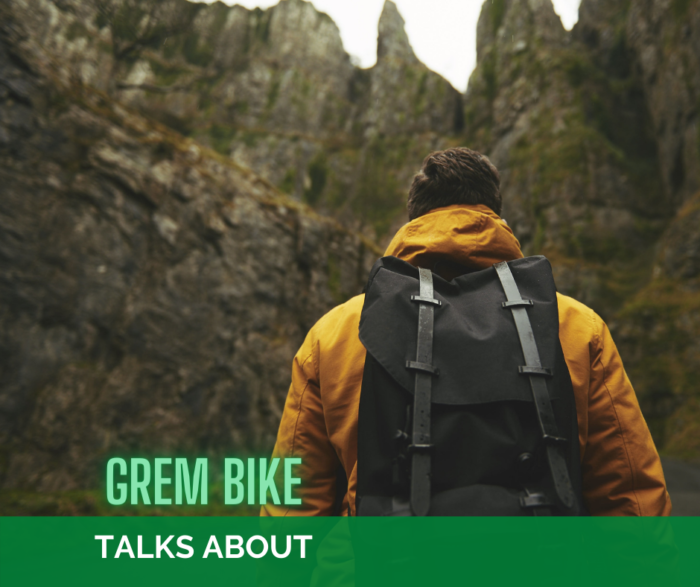 Outdoor grem bike talks about lo zaino