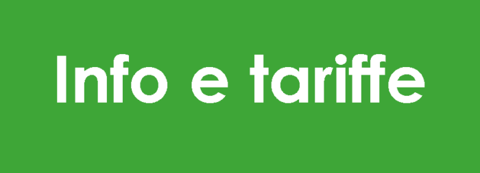 Info e tariffe